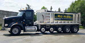 ReAgg Transportation for Recycled Aggregate Onsite