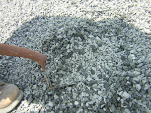 What is Crushed Stone #8?