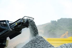 Onsite Recycled Aggregate Crushing Mobile