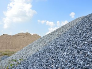 What is crushed aggregate base?