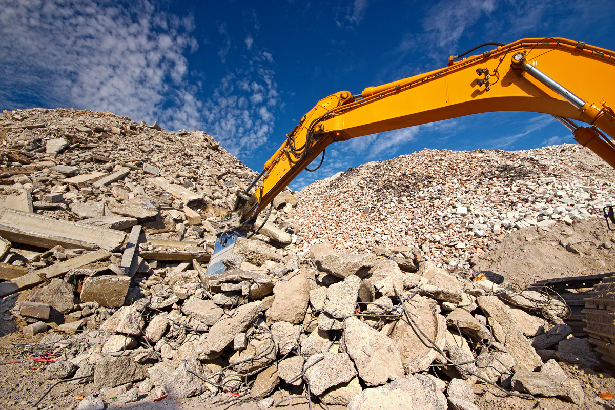 Recycled Aggregates and Concrete Mixing Process