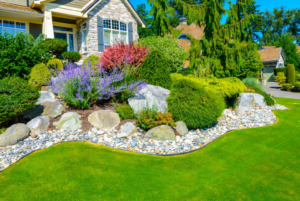 Crushed Stone Landscape Projects in Baltimore Maryland