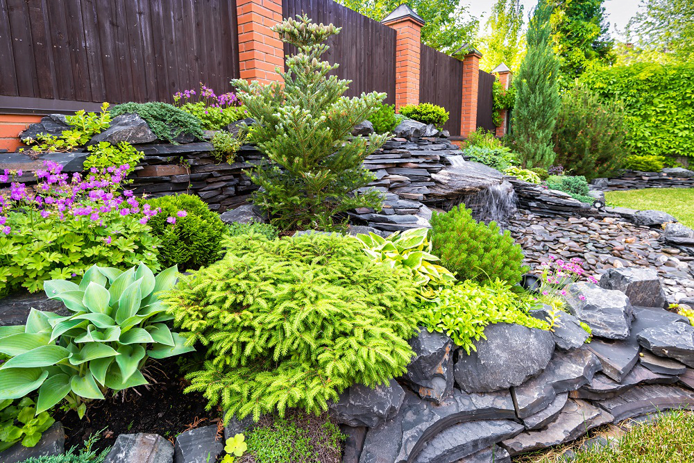 Landscaping with Aggregate Stone Products