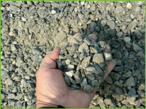 Crushed Stone CR-6 Crusher Run Delivery of Aggregate Products
