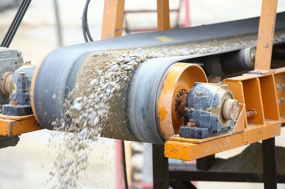 Recycling Concrete using portable crushing services Baltimore